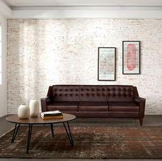 $1700 (WAS $3400) Borgen 3 Seater Sofa - Premium Leather