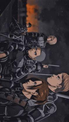 Attack On Titan Season, Attack On Titan Fanart, Attack On Titan Levi, S4 Wallpaper, Cute Anime Wallpaper, Otaku Anime, Anime Art, Manhwa, Snk Cosplay