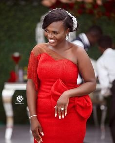 Trendy Asoebi Styles is the most trending styles that will make you to be significant and outshine in any Owambe party. African Bridesmaid Dresses, African Wedding Attire, African Wear Dresses, Latest African Fashion Dresses, African Attire, Lace Dress Styles, Ankara Dress Styles, Braids Maid Dresses, African Traditional Wedding Dress
