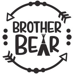 Silhouette Design Store: brother bear logo