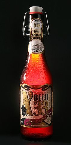 X-BEER 33 --> Strongest beer in the world is in the Czrch Repubic, Prague. More Beer, All Beer, Best Beer, Beer Brewing, Home Brewing, Czech Beer, Beer Bucket, Beers Of The World, Beer Brands