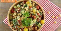 Kichererbsen-Feta-Salat von EAT SMARTER ist immer wieder lecker!