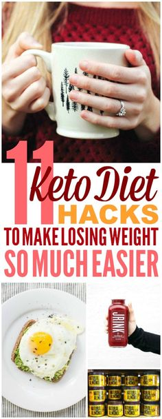 These 11 Keto Diet hacks are THE BEST! I'm so glad I found these AWESOME Ketogenic diet ideas! Now I have some great ways to make some keto recipes! #ketorecipes #keto #ketogenicrecipes #ketogenicdietrecipes