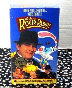 eBlueJay: Who Framed Roger Rabbit (VHS, 1997) Animated, Cartoon, Adult, Rated PG, Brand New  https://www.ebluejay.com/Ads/Item/5693309