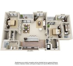 Discover our Apartments in Orlando, FL where we offer spacious one and two-bedroom apartments outfitted with the latest in design and décor. Pool House Designs, Sims House Design, Home Room Design, Home Design Plans, Small Apartment Layout, Tiny House Layout, House Layouts, Condo Floor Plans, Apartment Floor Plans