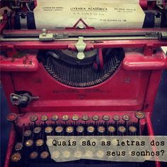 """♥ la rouge: """"What are the letters of your dreams?"""""""