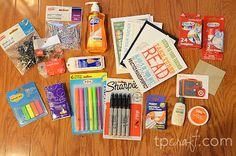 Teacher's survival gift to give to new teachers at the start of every class year. (Modify the contents as desired.)