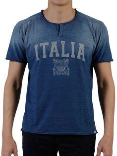 Blue Italia T-Shirt - On Sale - Mistile