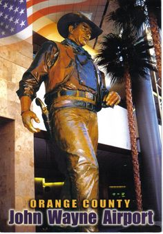 John Wayne Airport , Orange County California