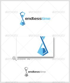 Endless Time Logo Template   #GraphicRiver         Overview:   -  4 color variations: color, gray, white and negative -  Fully editable and re-sizable vectors -  AI, EPS, PSD, PNG documents -  Easy to change color and text -  Free font   The ZIP