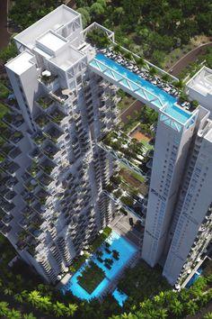 Moshe Safdie's Sky Habitat, Singapore
