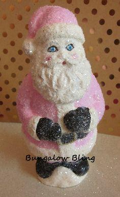 Paper Clay Santa