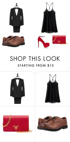 """""""Untitled #237"""" by arijana-cehic ❤ liked on Polyvore featuring Prada, Keen Footwear and Schutz"""