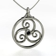 celtic symbol for balance between mind, body and spirit - I like the symbol. I have always liked the idea of the spiral to represent life.
