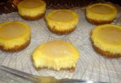 Citrus Rush Cheesecake minis  (Lemon Cheesecake, Key Lime Curd topping, Orange Oatmeal cookie crust)