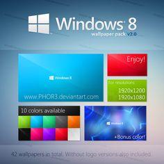 Windows 8 Metro WallPack Wallpapers Style New Wallpaper Ui Ux Design
