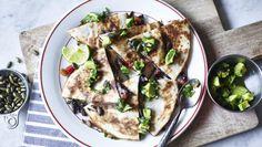 BBC Food - Recipes - Spicy black bean quesadilla