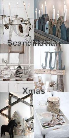 moodboard - Scandinavian xmas
