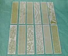 Lizz Barnes on Jewelry Making, Metal Stamping and Metal Stamping Supplies: TEXTURE WITH PAPER?