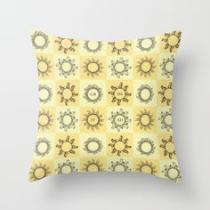 Grimstad vintage suns Throw Pillow by prdart Scandinavian Design, Iceland, Norway, Modern Art, Cushions, Culture, Throw Pillows, Cool Stuff, Interior