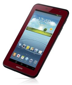 Samsung released a red Galaxy 2 7.0 tablet  Still not a big fan of Android software but could enjoy