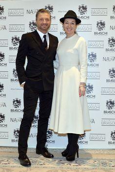 Maurizio Braschi and Maria Lobanova #braschi #fur #celebrity #fashion #glamour #style #classy #luxury
