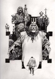 Liutprando, King of the Lombards Comic Art