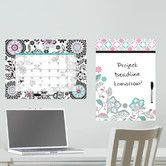 Found it at AllModern - Dry Erase Floral Medley Message and Calendar Chalkboard Wall Decal