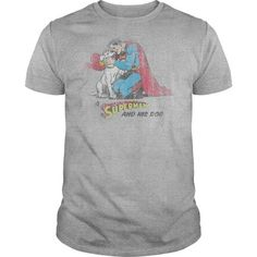 Superman And His Dog T Shirts, Hoodies, Sweatshirts. CHECK PRICE ==► https://www.sunfrog.com/Geek-Tech/Superman-And-His-Dog-.html?41382