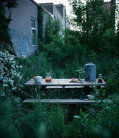 Lovely garden table