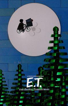 ET movie LEGO
