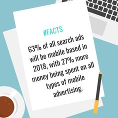 The % of visits from mobile devices and how it's overgrowing? Search Ads, Mobile Advertising, Strong Feelings, History Facts, Digital Marketing, Web Design, Social Media, Blog, Blogging