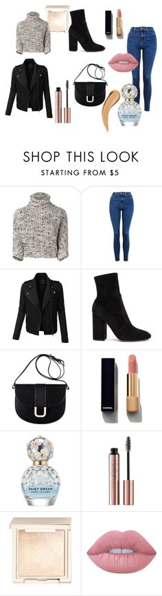 """""""city girl"""" by akidesekerii on Polyvore featuring moda, Brunello Cucinelli, Topshop, LE3NO, Valentino, A.P.C., Chanel, Marc Jacobs, Jouer ve Lime Crime"""