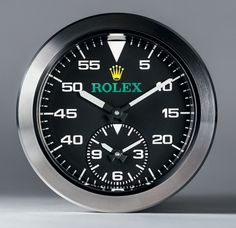 This Is What A Modern Rolex Dashboard Instrument Looks Like: Chronograph and Speedometer For Bloodhound SSC 1000 MPH Car