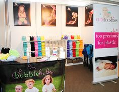 eg of stand at baby expo