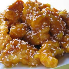 Chinese Honey Chicken Recipe. Ryan says rice is too dry. Batter is really good for Asian fried chicken.