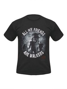 The Walking Dead T-Shirt All my Friends Lizenzware schwarz-bunt. Aus der Kategorie Merchandise Rock & Metal / Gaming & Film Shirts. Mit diesem großartigen The Walking Dead Lizenzshirt tauchen Sie in die postapokalyptische Zombie-Welt von Rick Grimes und Co. ein. Ein wirklich sensationeller Fanartikel für Fans der weltweit erfolgreichen Zombie-Serie!