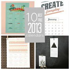 10 Best Free 2013 Calendars | Babble