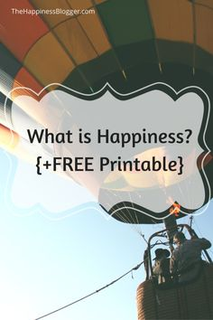 What is Happiness? {FREE Printable Worksheet} #happiness #printables