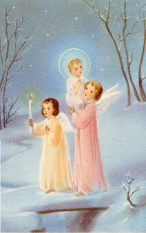 50s christmas card - Google Search