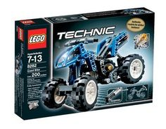 LEGO Technic Quad Bike, This fully functional model bike is ready for rough terrain! Lego Structures, Lego Technic Sets, Kids Gift Baskets, Ramadan Gifts, Cool Lego, Awesome Lego, Quad Bike, Bike Reviews, Holiday Deals