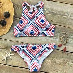 Cupshe Not Too Late Bikini Set