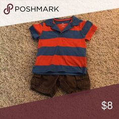 12-18 month outfit 12-18 month outfit.  Shirt is Okie Dokie and shorts are Old Navy. Old Navy Matching Sets