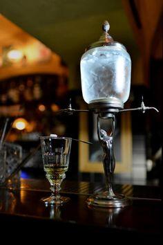 Hemingway bar absinthe Prague