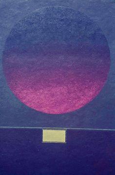 Avatar Moraes (1933-2011) Composição Abstrata 2 – guache com técnica pochoir (120/70cm)