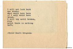 Typewriter Series #2093 by Tyler Knott Gregson