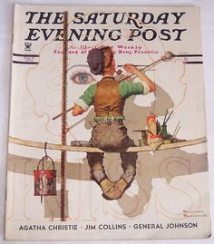 Sept 9, 1935-Saturday Evening Post, Norman Rockwell Cover