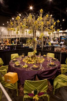 Glamorous Green Tabletop entry by Kathy G & Company