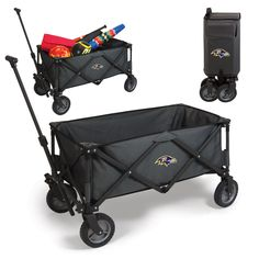 Baltimore Ravens Awesome wagon to get my gear to the tailgate party! http://backyardtailgator.com/collections/nfl-baltimore-ravens/products/adventure-wagon-baltimore-ravens