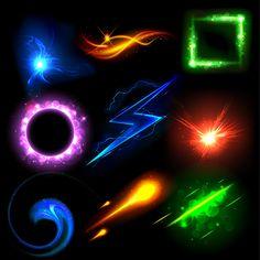 light effect vector - Cerca con Google